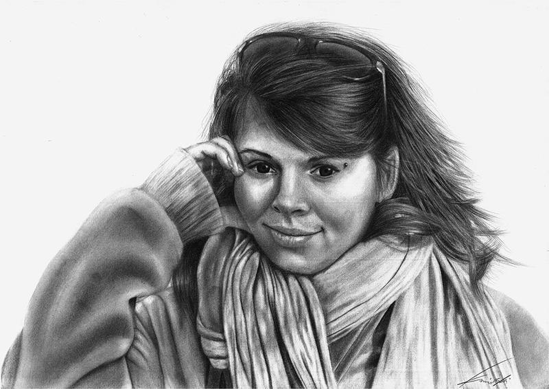 Portrait Iza by The-Kaminski