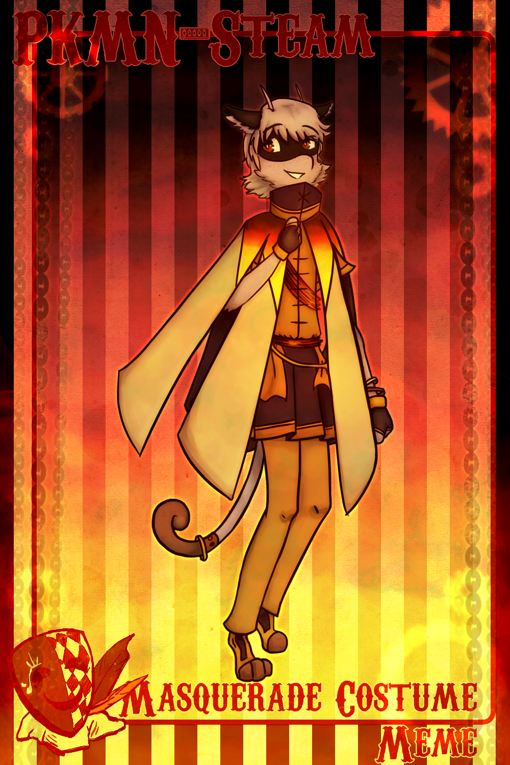 PS: The Sun (Masquerade Costume Meme - Oliver)