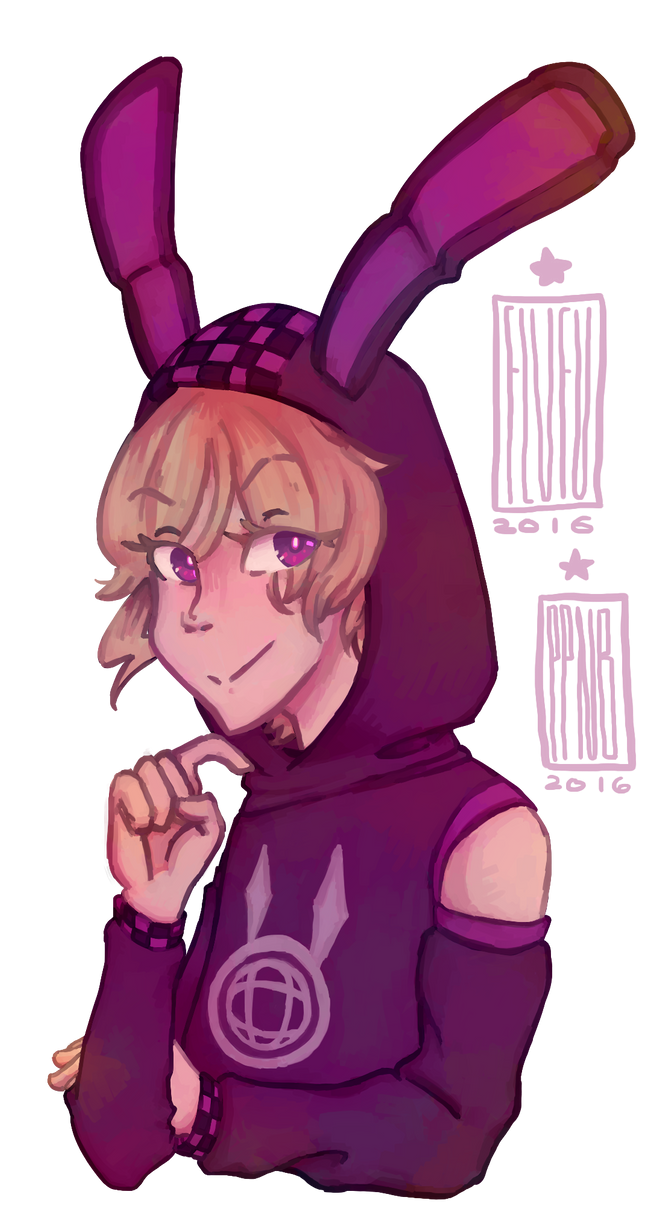 TWEWY: Bunny Parka!Joshua (RE) by PizzaPotatoNBacon