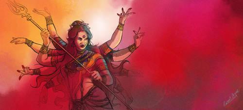 Durga by rauldg