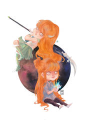 Commission : Moonlight soul. by Vivi-ko