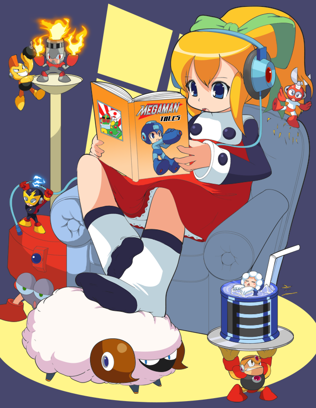Tales of Mega Men by neato-neko