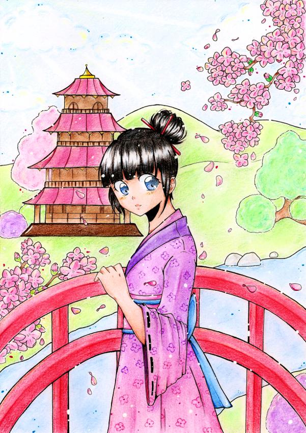 Konnichiwa by Kuraiko-kyun