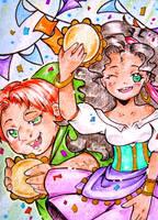 #50 - Dance, Esmeralda, dance! by Kuraiko-kyun