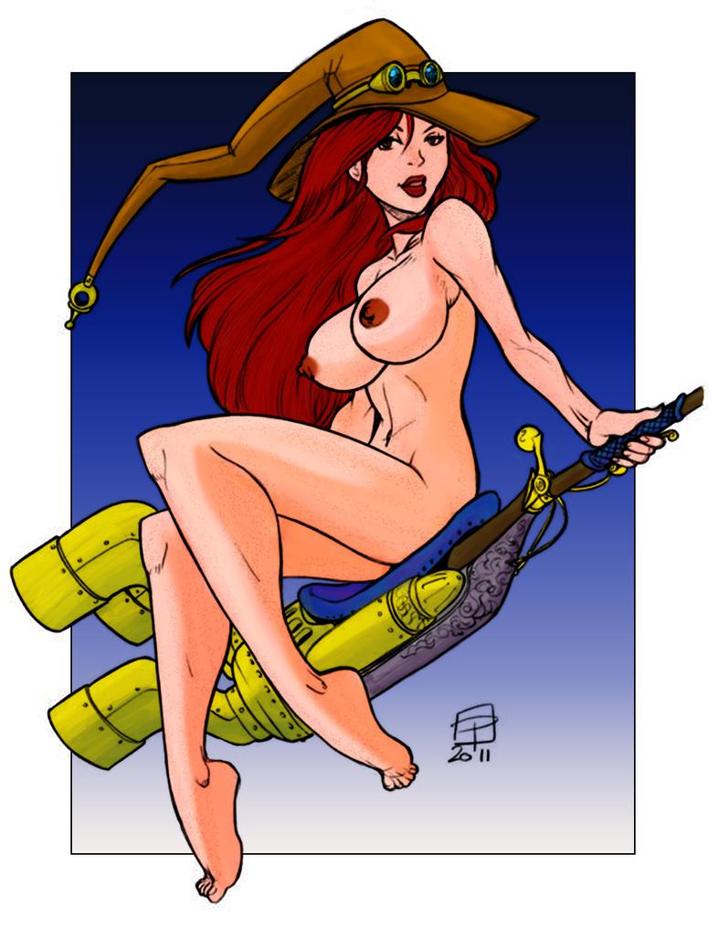 Steampunk Ginny by ChaosNet1701