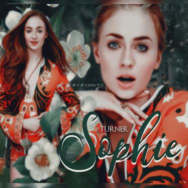 Sophie Turner//By:Pxnditx by pxnditx
