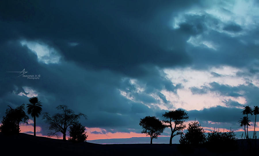 Just Before Rain by vsaravind007