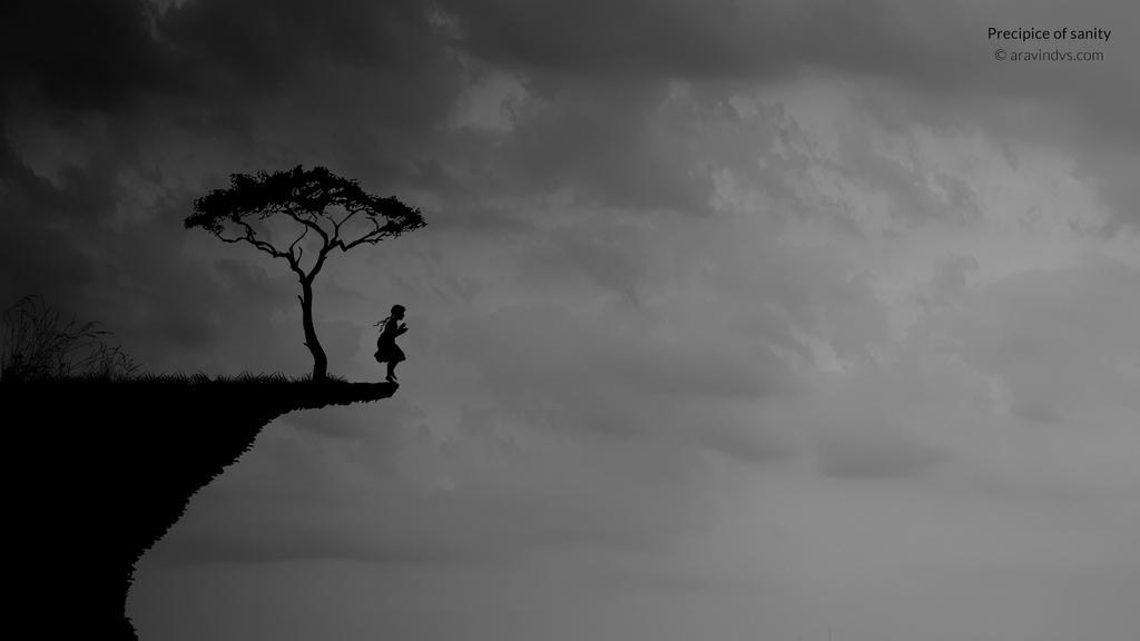 Precipice of sanity by vsaravind007