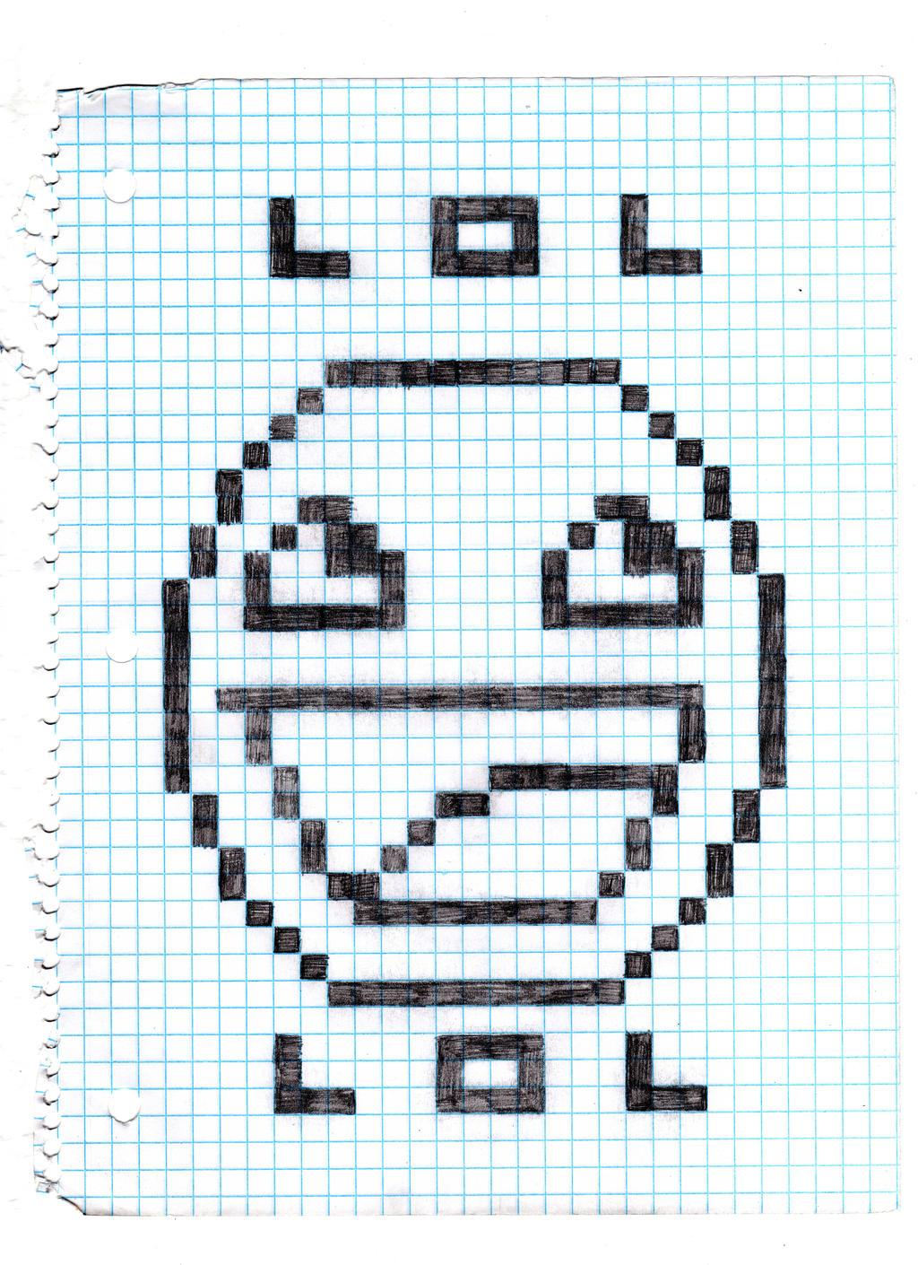 Oh Graph Paper...LOL by Tobienforcer on DeviantArt