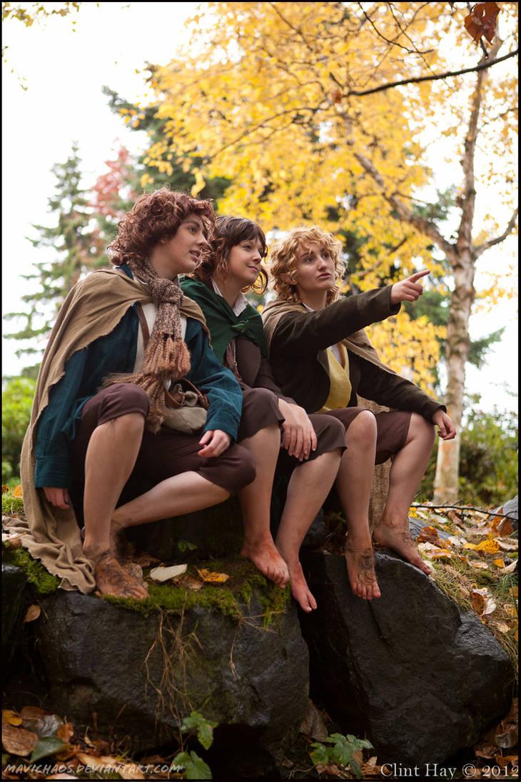 The Hobbits by mavichaos