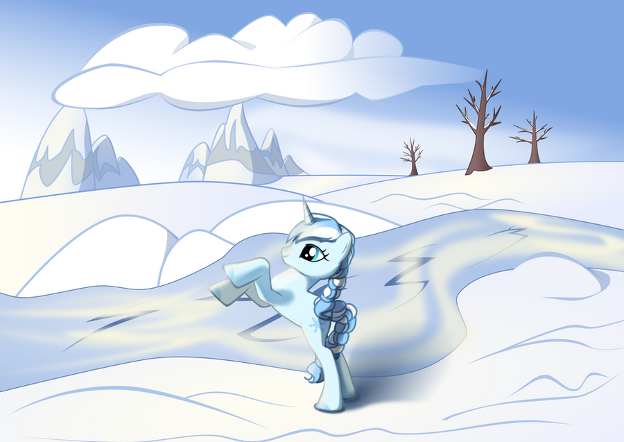 Frosty in Pony Creator by iOVERD