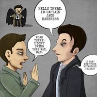 Dean meets Jack Harkness