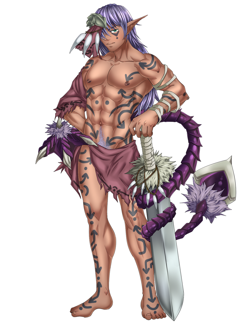 Monster Boy Encyclopedia #5: Amazonian by SourShockX