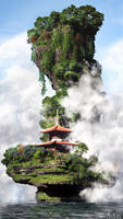 Zen shrine