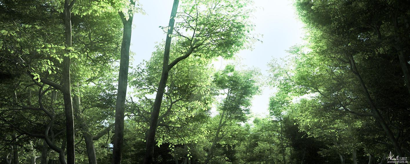 wood-lighting by AronKamo