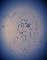 The face of Blue Diamond by Jyuubi-chan