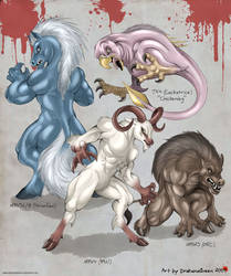 Weres - Altered Beast by DrakainaQueen