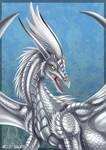 Silver Dragon -Commission