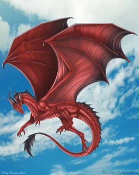 Red Dragoness