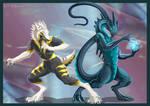 Sergal vs Dragon