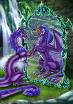 Dragoness Reflection