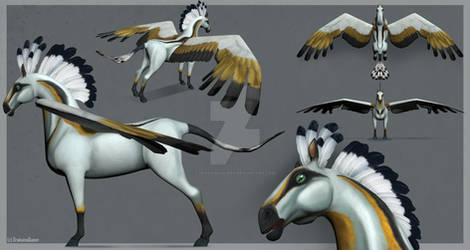 3D Pegasus concept