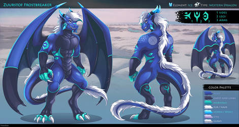 Anthro dragon sheet