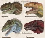 Titanic Carnivorous Dinosaurs