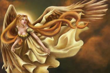Serenity - Sailor Moon by JoannaGebka