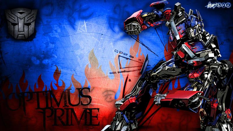 optimus prime wallpaper by bonez621 on deviantart