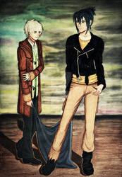 nezumi and sion by Elena89Hikari