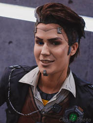 Handsome Jack cosplay by Elena89Hikari