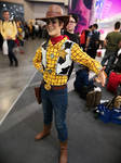 Woody cosplay Toy Story