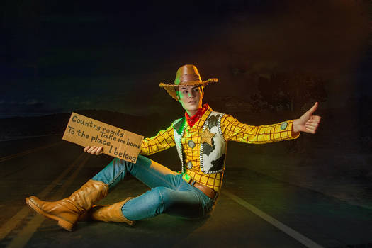 Woody cosplay