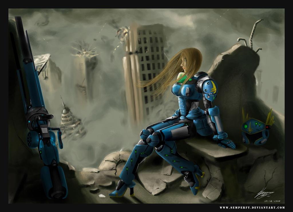 Neo Valkyrie Armor vr-03 by semperfy