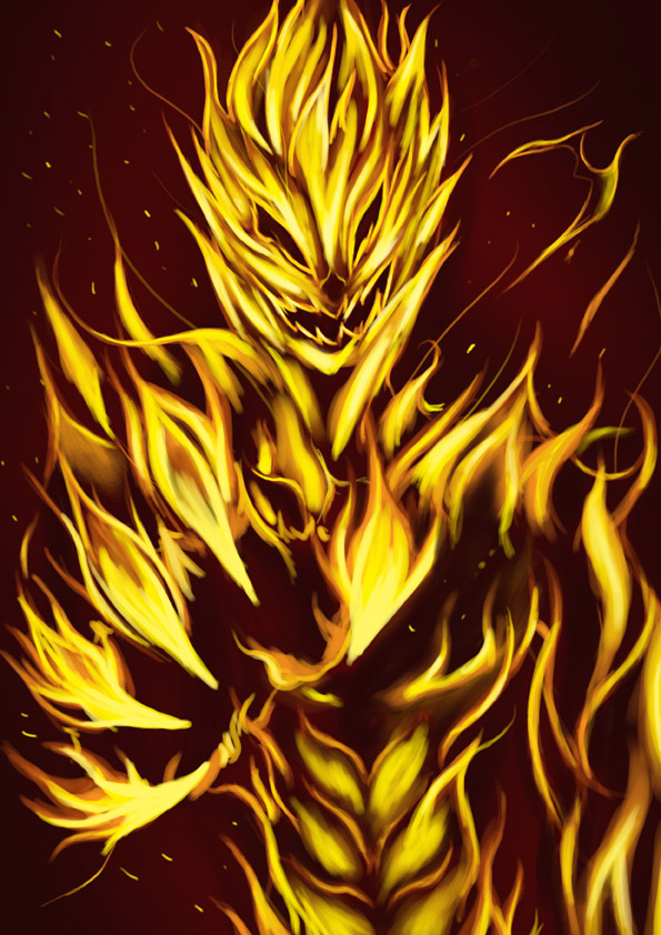 fire elemental by semperfy on DeviantArt