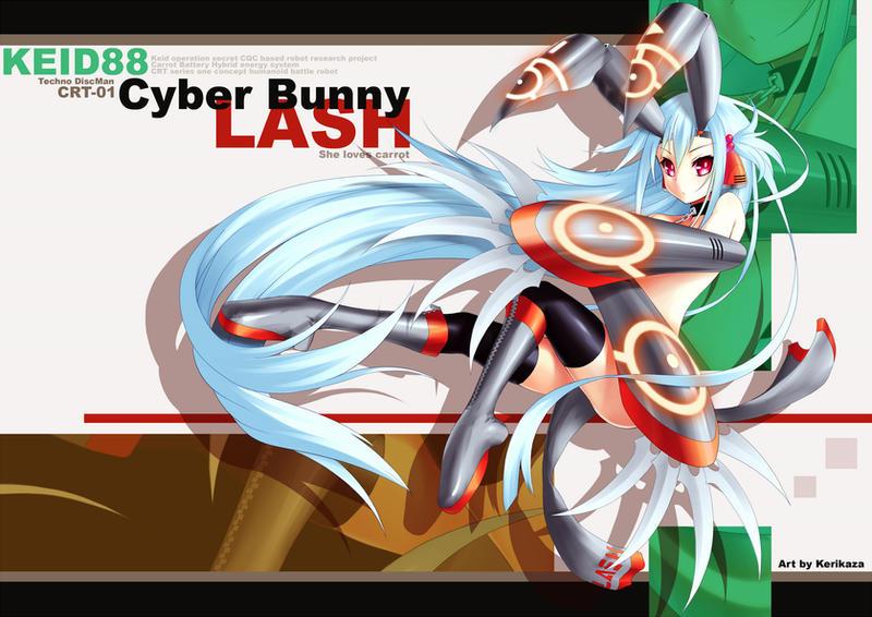 TDM Cyber Bunny LASH by Kerikaza