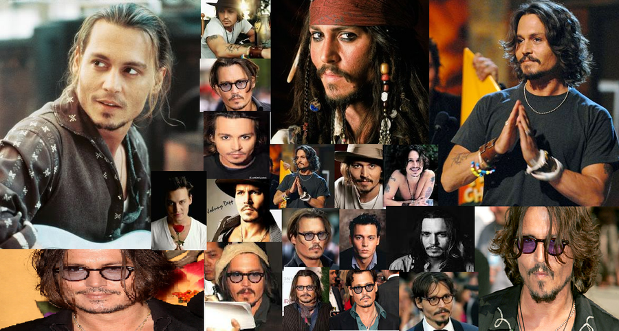 Johnny Depp Characters Collage 11559 Newsmov