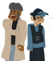 Buddy Cops by chuckflysh