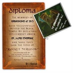Kazzak's Diploma
