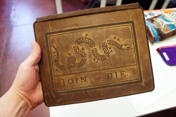 Join Or Die Ipad 3 Leather Cover By Joevleather On Deviantart