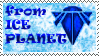 Ice Planet Stamp by Atrixfromice