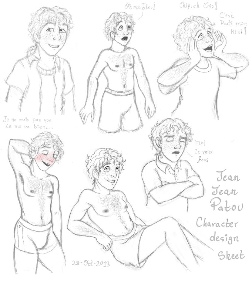 Jean Jean - Character design by Atrixfromice
