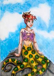 Unconventional mermaid