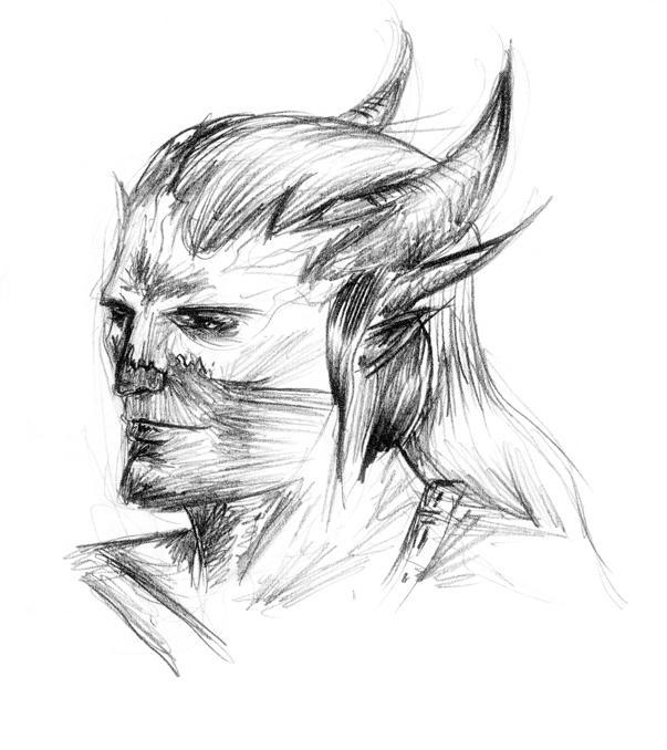 Qunari by rrombo