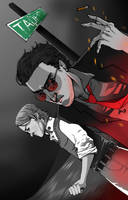 Good Omens: Good and Evil by Gido