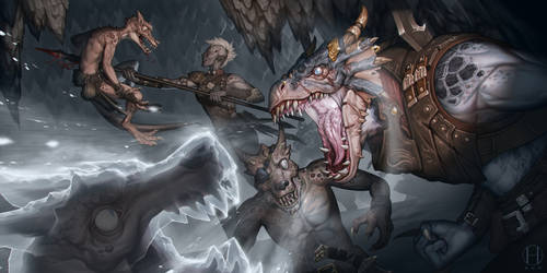 Underdark Exterminators by Gido