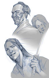 Legend of the Five Rings - sketch