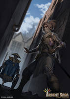 Novice Protector - Argent Saga