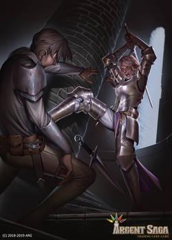 Silver Watchwoman - Argent Saga